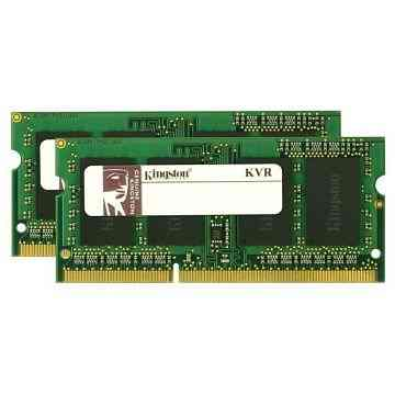 Ver Kingston Technology ValueRAM 8GB DDR3 1333MHZ SODIMM