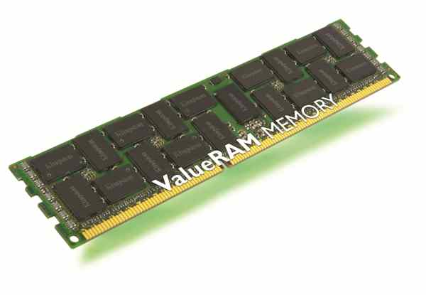 Kingston Memoria Valueram 4gb Ddr3-1333  Ecc Reg Whit Parity Intel Val Kvr13r9d8
