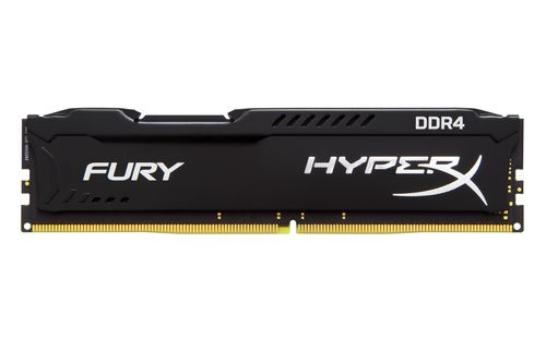 Ver Kingston Memoria HyperX Fury Black DDR4 8GB 2400MHz