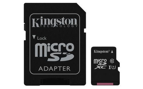 Ver Kingston SDC10G2 256GB MicroSDXC UHS I Class 10