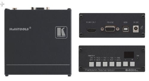 Ver Kramer Electronics 840Hxl HDMI generador de video de prueba