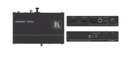Kramer Electronics FC 46XL Negro convertidor de audio