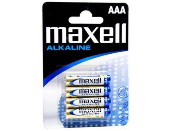 MAXELL PILAS ALCALINAS AAA LR03