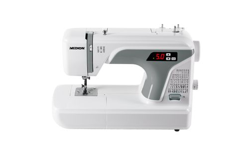 Ver MEDION MD 16661 Computerised sewing machine Electrico