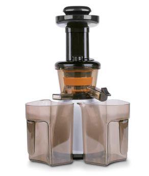 MEDION MD 17843 Exprimidor lenta 160W Negro Blanco