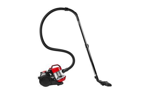MEDION MD 18004 Aspiradora cilindrica 15L 700W A Negro Rojo Transparente