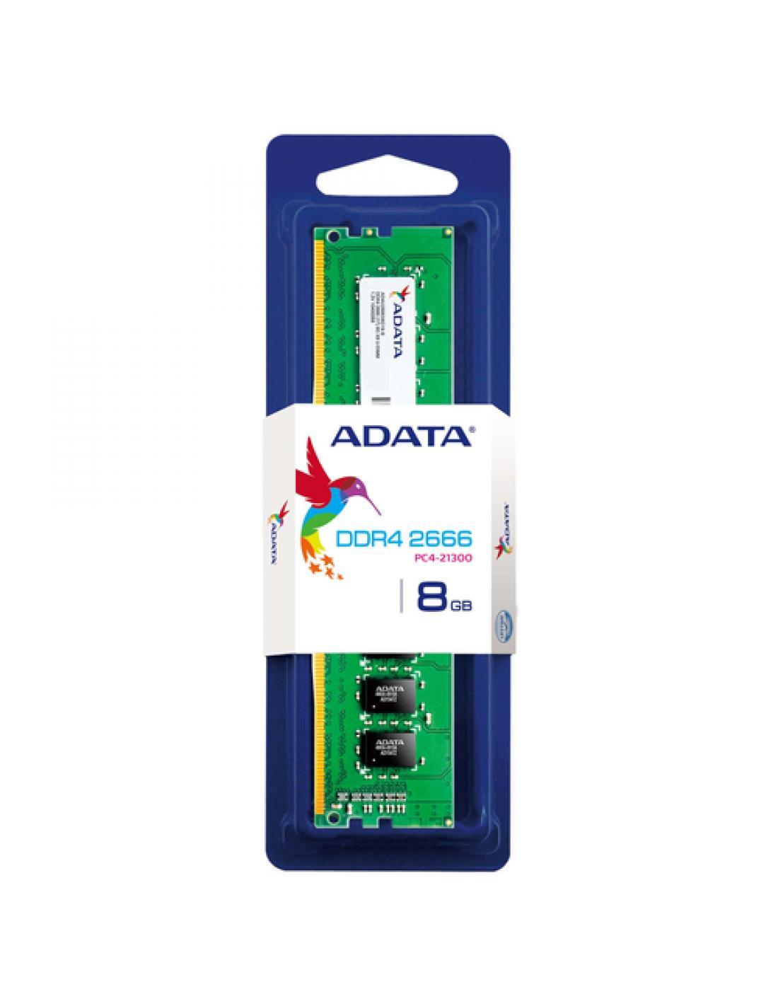 Memoria Adata Ddr4 2666 Mhz 8gb Single T