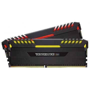 CORSAIR DDR4 16GB 2X8GB PC 3600 VENGEANCE RGB SERIES