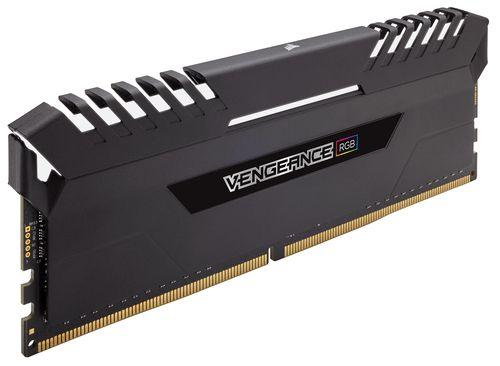 Ver CORSAIR DDR4 32GB 2X16GB PC 3200 VENGEANCE RGB SERIES