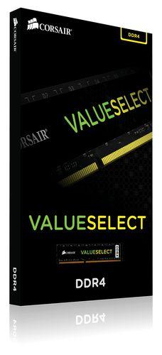 Ver MEMORIA CORSAIR DDR4 4GB 1X4GB PC 2400 VALUE SELECT