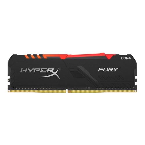 Ver KINGSTON HYPERX FURY RGB DDR4 8GB 3466MHZ CL16 1RX8 HX434C16FB3A 8