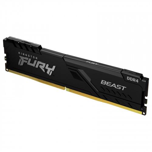 MEMORIA KINGSTON FURY BEAST BLACK DDR4 1