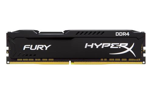 Ver KINGSTON HYPERX FURY DDR4 8GB 2933MHZ CL17 1RX8 BLACK HX429C17FB28