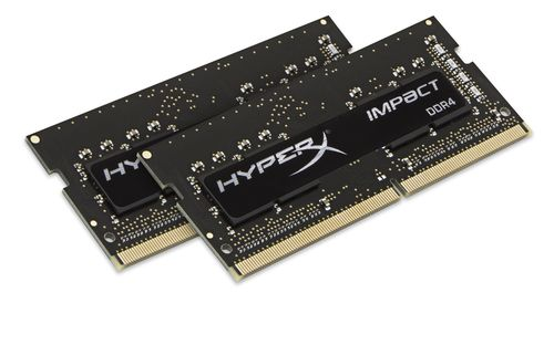 Ver KINGSTON HYPERX IMPACT BLACK SODIMM DDR4 16GB Kit2