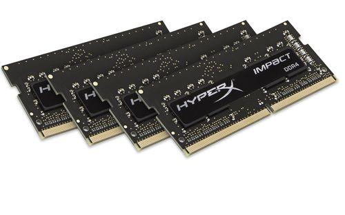 KINGSTON HYPERX IMPACT BLACK SODIMM DDR4 32GB Kit4