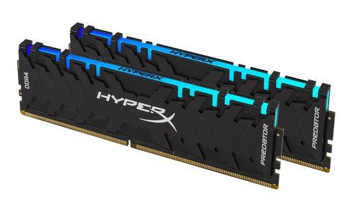 Ver KINGSTON HYPERX PREDATOR DDR4 16GB KIT2 3200MHZ RGB