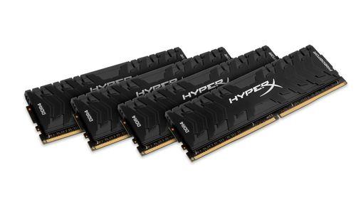 Ver KINGSTON HYPERX PREDATOR DDR4 32GB KIT4 2666MHZ CL13 XMP