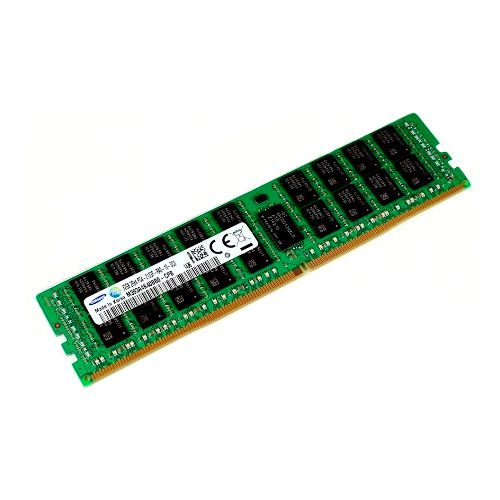 Ver SAMSUNG ECC REGISTERED DIMM 12V 32GB X4 DDR4 PC2400 M393A4K40CB1 CRC