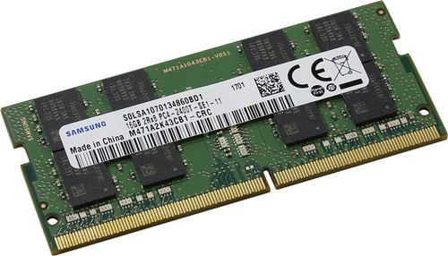 Ver MEMORIA SAMSUNG SODIMM 12V 16GB X8 DDR4 PC2400