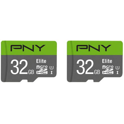 Microsd Pack 2 X 32gb Elite Pny