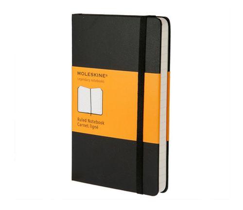 Ver MOLESKINE NOTEBOOK LARGE RULED BLACK HARD COVER