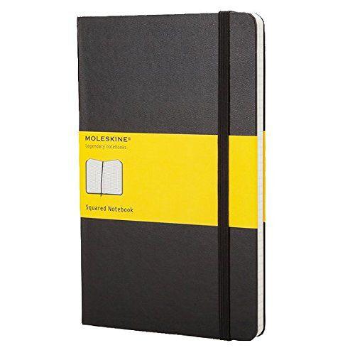 Ver MOLESKINE NOTEBOOK LARGE SQUARED BLACK HARD COVER