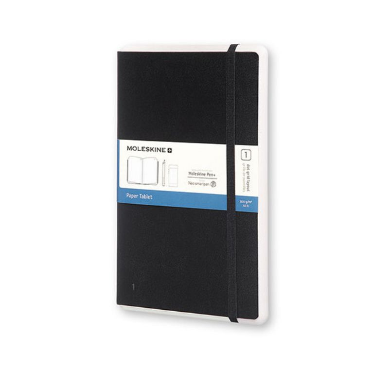 Moleskine Paper Tablet Con Pattern Neolab Per Pen Dotted Hard Black
