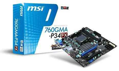 Placa Base Msi 760gma-p34  Fx  Placa Base