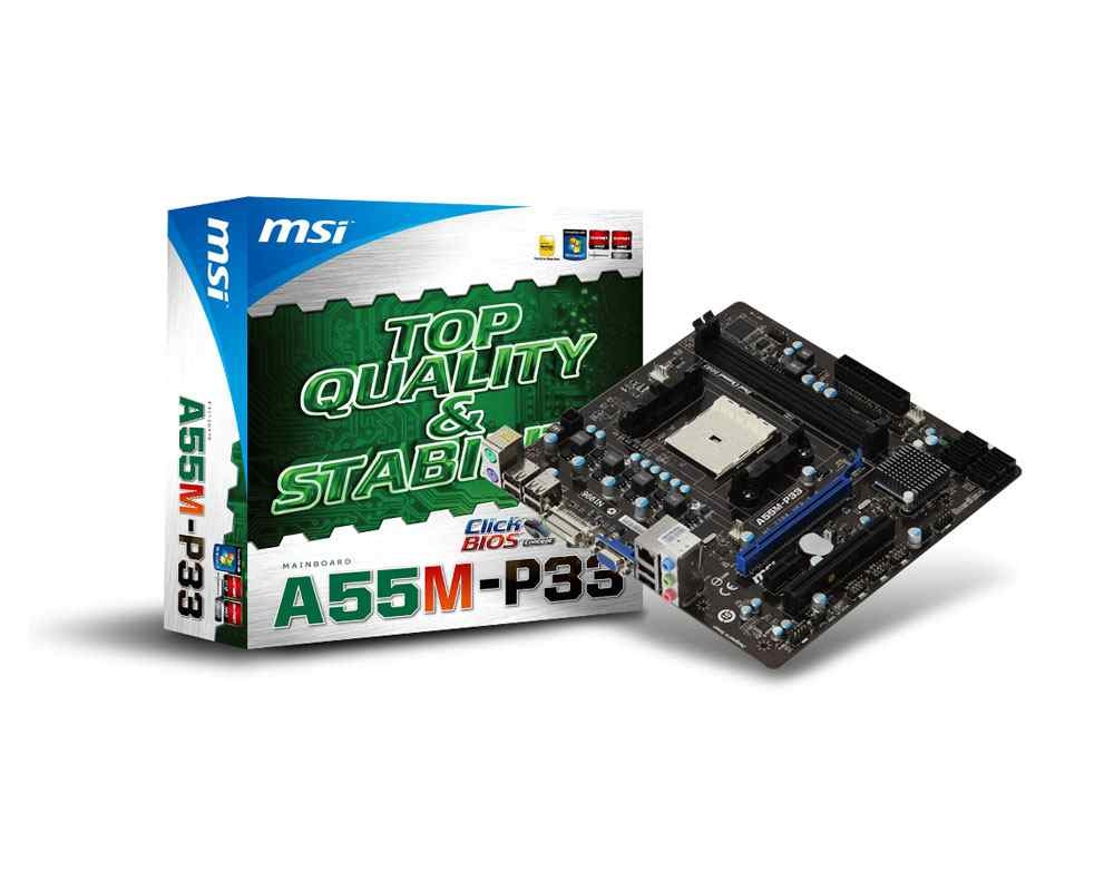 Msi A55m-p33 Placa Base