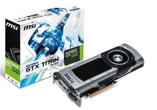 Msi Geforce Gtx Titan 6gb