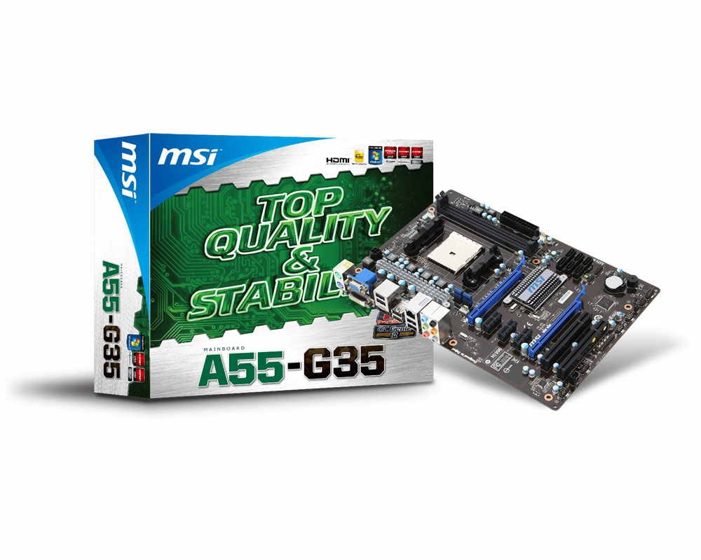 Msi Placa Base Amd 16gb A55-g35 Dvi Hdmi