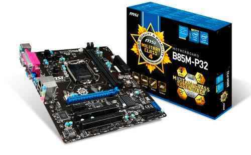 Msi Placa Base B85m-e45