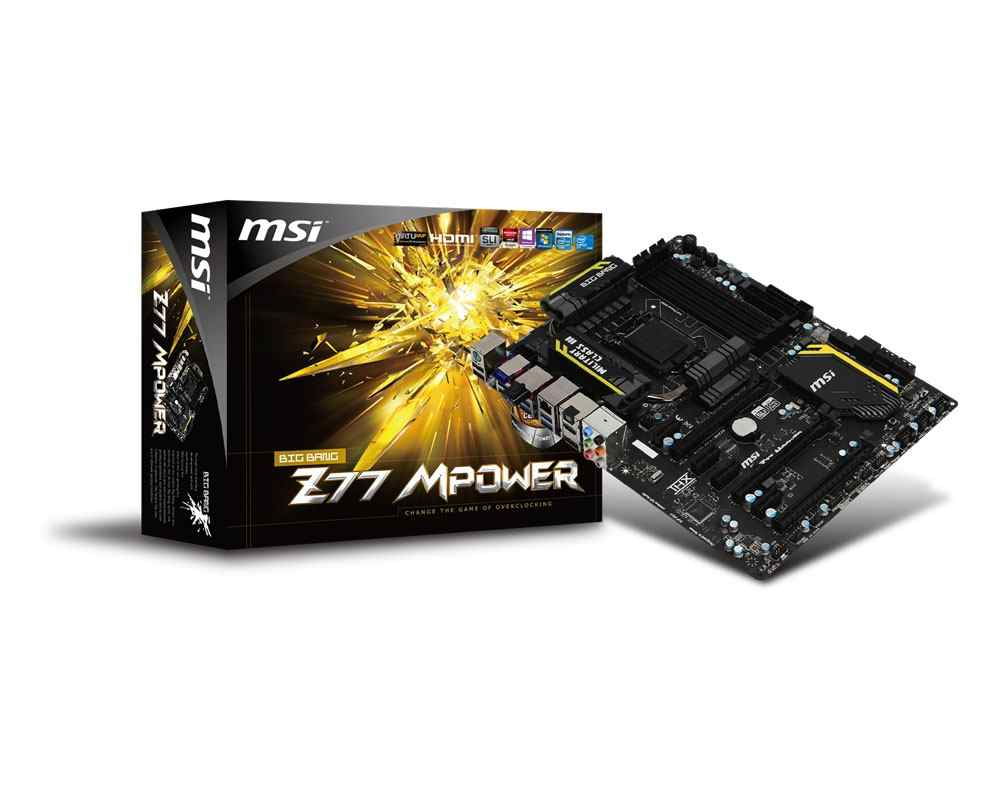 Msi Placa Base Z77 Mpower