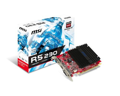 Ver MSI R5 230 1GD3H AMD Radeon R5 230 1024GB