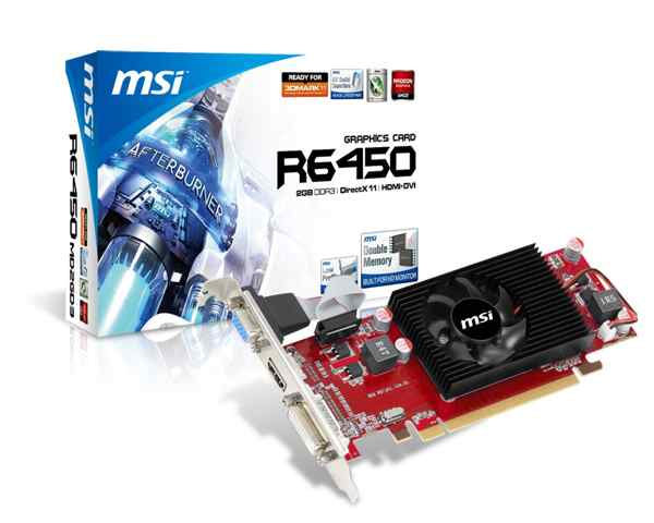 Msi R6450-md2gd3