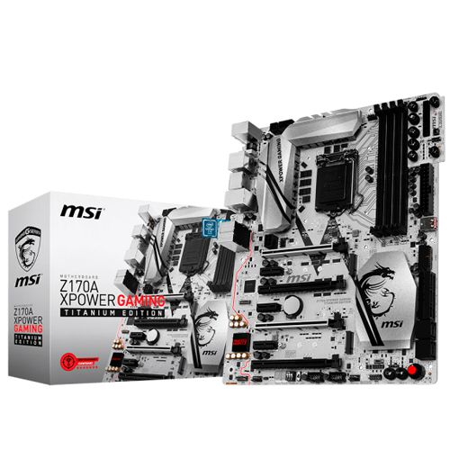 Ver MSI Z170a Xpower Gaming Titanium Edition