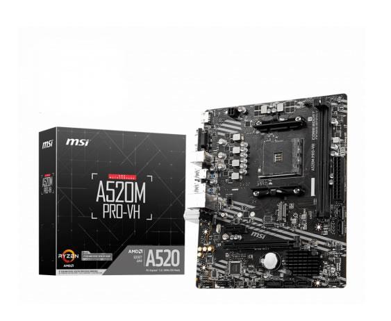 Msi A520m Pro Vh