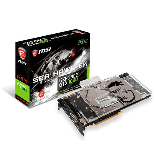 Ver MSI GTX 1080 SEA HAWK EK X