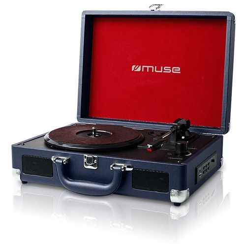 Ver MUSE TOCADISCOS MT 101 DB Turntable 334578rpm USB RCA OUT