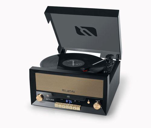 Ver MUSE LECTOR DE VINILO MT 110 B CD BT RADIO ENCODER