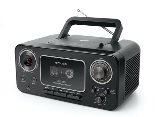 MUSE RADIO CD CASSETTE M 182 RDC VINTAGE