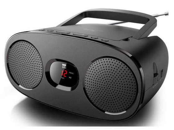 Ver MUSE RADIO CD NEGRO SINTONIZADOR ANALOGO MWFM RD 306