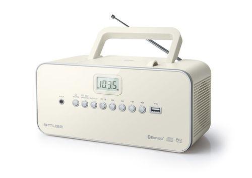 Ver MUSE RADIO CDMP3 PLAYER CON USB Y BLUETOOTH M 30 BTN