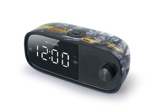 Ver MUSE RADIO RELOJ M 168 NY PLL FM TUNER DUAL ALARAM
