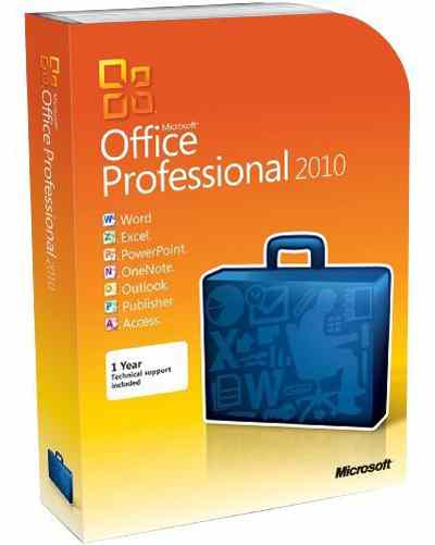 Microsoft Office 2010 Professional   Norton Internet Security 2012