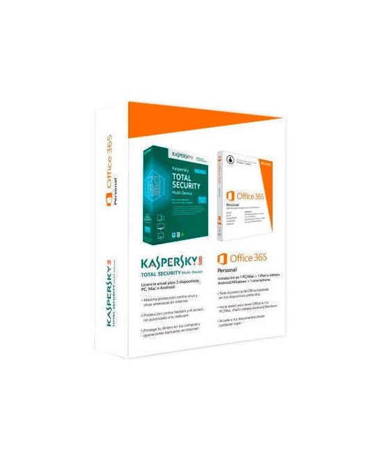 Microsoft Office 365 Personal Kaspersky Total Security 3 US