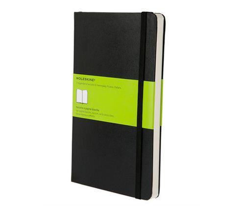 Moleskine QP062 A5 240hojas Negro cuaderno y block