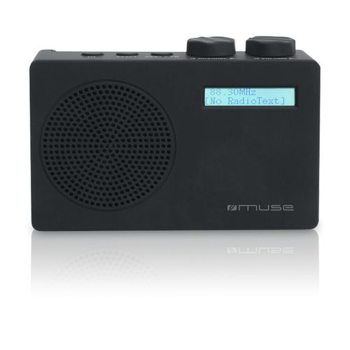 Ver Muse M 100 DB Portatil Analog digital Negro radio