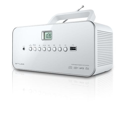 Muse M 28 RDW Portatil Digital Color blanco radio