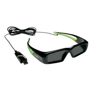 Nvidia Gafas Geforce 3d Vision Con Cable  Wired